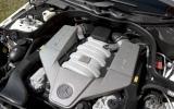 6.3-litre V8 Mercedes-AMG E 63 engine