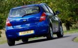 Hyundai i20 Blue rear