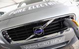 Charging the  Volvo C30 BEV