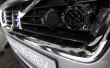 Volvo C30 BEV charging port