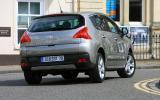 Peugeot 3008 cornering
