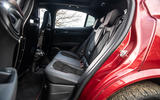 Alfa Romeo Stelvio Quadrifoglio 2019 road test review - rear seats
