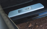 Aston Martin DBX 2020 road test review - scuff plates
