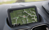 Aston Martin Vantage 2018 review sat-nav