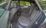 Audi A7 Sportback 2018 road test review rear seats