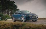 Audi E-tron 55 Quattro 2019 road test review - static