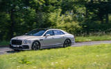 Bentley Flying Spur 2020 road test review - on the road side