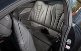 BMW 8 Series Coupé 2019 road test review - rear seats