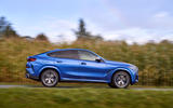 BMW X6 M50i 2019 road test review - on the road side