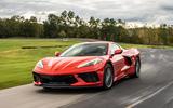 Corvette Stingray C8 2019 road test review - track corner