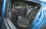 Ford Focus ST 2019 road test - rear seats