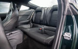 Ford Mustang Bullitt 2018 road test review - rear seats