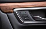 Honda CR-V 2018 road test review - seat controls