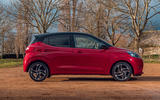 Hyundai i10 2020 road test review - static side