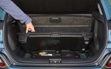 Hyundai Kona Electric 2018 road test review - under floor storage