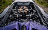 Lamborghini Aventador SVJ 2019 road test review - engine bay
