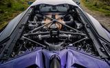 Lamborghini Aventador SVJ 2019 road test review - engine bay