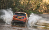 Land Rover Discovery Sport 2020 road test review - splash rear