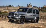 Mercedes-AMG G63 2018 review static