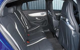 Mercedes-AMG GLC 63 S road test review rear seats