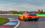 Mercedes-AMG GT Black Series road test review - static rear