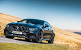 Mercedes-AMG GT four-door Coupé 2019 road test review - static