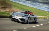 Porsche 718 Spyder 2020 road test review - on the road tracking
