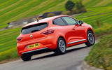 Renault Clio 2019 road test review - cornering rear