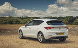 Seat Leon 2020 road test review - static rear