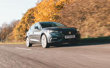 Seat Leon eHybrid 2020 road test review - on the road front