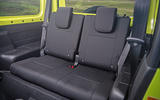 Suzuki Jimny 2018 road test review - rear seats