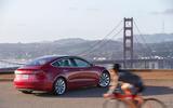 Tesla Model 3 2018 road test review hero static rear