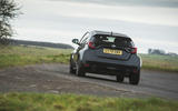 26 Toyota GR Yaris 2021 UK road test review on road rear