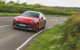26 Toyota Mirai 2021 RT driving front