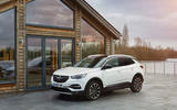 Vauxhall Grandland X Hybrid4 2020 road test review - static front