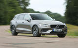Volvo V60 2018 road test review on the road right