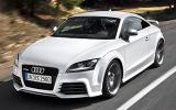 Audi TT RS 2.5 Coupe cornering