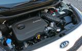 1.1-litre Kia Rio diesel engine