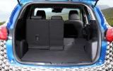 Mazda CX-5 boot space