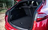 Alfa Romeo Stelvio Quadrifoglio 2019 road test review - boot