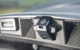Aston Martin DBS Superleggera 2018 road test review - reversing camera