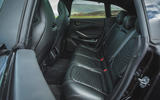 Aston Martin DBX 2020 road test review - rear seats