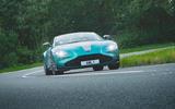 27 Aston Martin Vantage F1 2021 RT cornering front