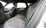 Audi A6 Avant 2018 road test review - rear seats