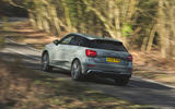 Audi SQ2 2019 road test review - cornering rear