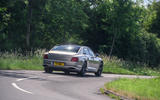 Bentley Flying Spur 2020 road test review - on the road rear