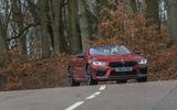 BMW M8 Competition convertible 2020 road test review - on the road front