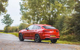 BMW X4 M Competition 2019 road test review - cornering rear