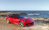Ferrari Portofino review static beach