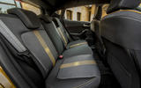 Ford Fiesta Active 2018 road test review rear seats